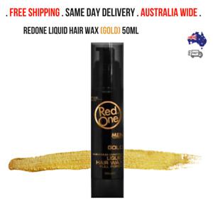 Red One Liquid Hair Wax (GOLD) 50ML / AUS-SELLER/SAME-DAY SHIPPING!!!