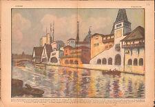Pavillon de Gascogne-Bretagne-Normandie Exposition universelle 1937 ILLUSTRATION