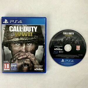 Call Of Duty WWII COD World War 2 PS4 (CD Mint Condition)