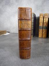 Tissot avis au peuple sur sa santé 6e Originale Lausanne 1775 reliure medecine