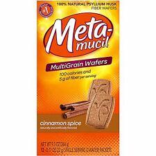 Metamucil Wafer Cinnamon Spice 24ct
