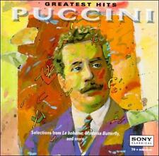 Greatest Hits - Puccini by Eva Marton, Kiri Te Kanawa, Richard Tucker, Luciano..