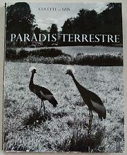 Paradis Terrestre COLETTE & IZIS éd Clairefontaine 1955