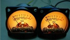 2pcs 39 type 500VU VU meter dB table power meter built-in 6-12V bulb Amp