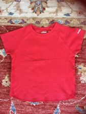 S.Oliver Girls Red T/shirt Age 7-8 Yrs VGC
