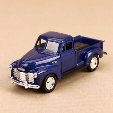 1953 Classic Chevrolet 3100 Pick-Up Ute Blue Die-Cast Model Car 12cm Pull-Back