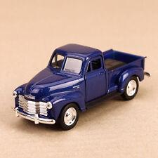 1953 Classic Chevrolet 3100 Pick-Up Ute Blue Die-Cast Model Car 12cm Pull-Back