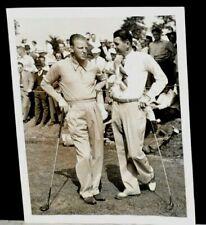 1939 Craig Wood & Henry Picard at US Open Championship in Philadelphia, Original