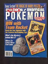August 2000 Pojo's Pokemon News & Price Guide Monthly Magazine *RARE*VINTAGE*