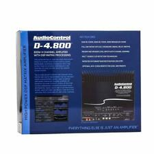 AudioControl D-4.800 800 W 4-Channel Car Amplifier w/ Digital Signal Processor