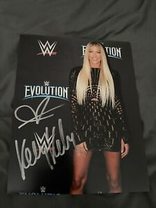 Kelly Kelly Signed 8 x 10 - WWE, NXT, AEW, NWA, Impact