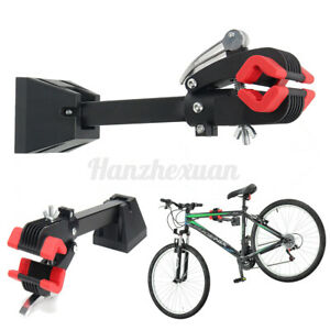 Wall Mount Bike Bicycle Clamp Repair Stand Maintenance Folding Clamp Storage