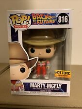 Funko Pop! Marty Mcfly #816 - Back To The Future - Hot Topic Exclusive