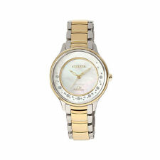 Citizen Women's Gold Plated Band Analogue Wristwatches