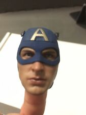 Captain  America Hot Toys The First Avenger Head Sculpt Original 1:6 Scale