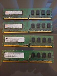 6gb RAM Pc (2 x 2gb, 2 x 1gb) PC2