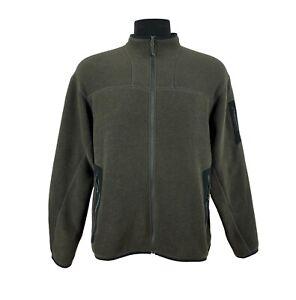 Arc'Teryx Lightweight Zip Front Fleece Windbreaker Soft Shell Jacket Sz L / XL