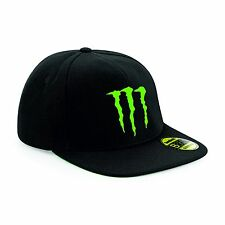 Monster Energy Snapback Cap-Chapeau Noir