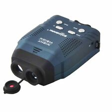 NEW SOLOMARK NIGHT VISION MONOCULAR NV100 / BLUE INFRARED ILLUMINATOR