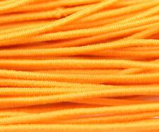 81ft Orange 1mm Round Elastic Cord Beading & Crafts Shock Cord (3x9yds)