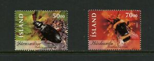 F315 Iceland 2004 insects 2v. MNH