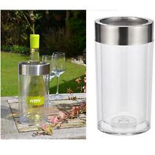 Sektkühler Weinkühler Flaschenkühler Weinflaschenkühler Edelstahlring Optik