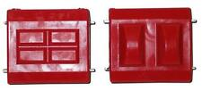 Prothane 7-506 Polyurethane GM Motor Engine Mount Bushings (Pair - Red)