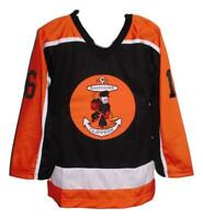 Any Name Number Size Baltimore Clippers Retro Custom Hockey Jersey Black