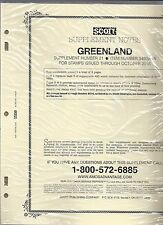 Scott Specialty Greenland Supplement 2016 345GR16