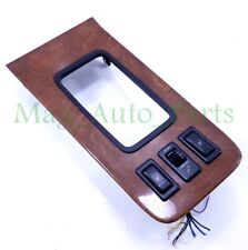 97-01 Lexus ES300 Ashtray Center Console Shifter Bezel Woodgrain Heater Switches