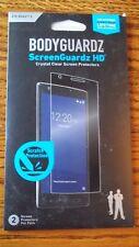Bodyguardz ScreenGuardz HD Crystal Clear Screen Protector 2 per pk ZTE ZMAX 2