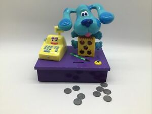 Rare 1999 Blues Clues Mattel Counting With Cash Register Game Tested Works HTF