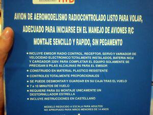 AVION J-3 CUB R.C. ELECTRICO