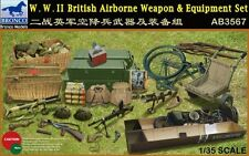 Bronco 1/35 AB3567 WWII British Airborne Weapon& Equipment Set