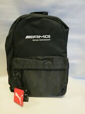 AMG Driving Experience Mercedes Puma Backpack, Embroidered Logo, black