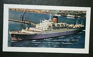 RMS WINDSOR CASTLE    Union-Castle Line   Small Colour Card