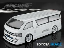1/10 TOYOTA HIAEC 190mm RC Car Transparent Body Strong Polycarbonate 201002