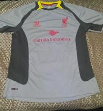 LIVERPOOL WARRIOR  GARUDA INDONESIA  FOOTBALL SHIRT SIZE  L  FOR MENS