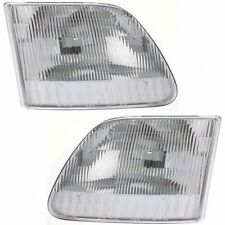 1997 - 2003 FORD F-150 / EXPEDITION HEADLIGHT HEAD LAMP LIGHT RIGHT & LEFT 2PCS