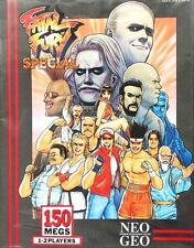 Fatal Fury Special Neo Geo AES Great Condition Fast Shipping Us Version