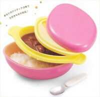 Japanese Hakoya Don Don Lunch Bento Box Oval Pink 50380 S-1924