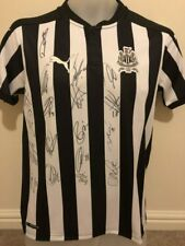 Multi Signed Newcastle United 2017/18 Home Shirt Ritchie Lascelles Dubravka