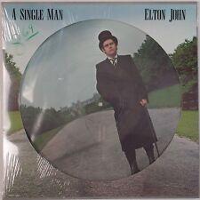 ELTON JOHN: A Single Man SEALED USA Orig PICTURE Disc VINYL LP Gorgeous!