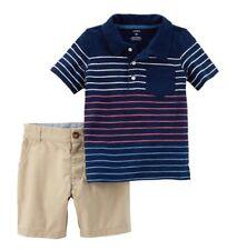 Carter's 2-piece Playwear Set, Navy Stripe, Size 5T, NWT