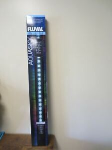 "New! Fluval Aquasky 36-48"" App Controlled LED Light 27W  14531 (5336)"