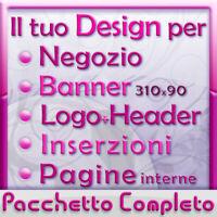 Template Grafica * Negozio eBay * Mobile Responsive Design, Logo e Inserzione