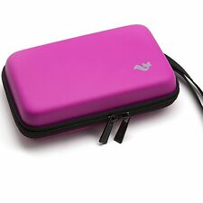 Brendo Nintendo 2DS XL,3DS XL,3DS travel Carry Case with16 Game Card Holder-Pink