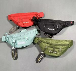 New Multicolor Supreme Waist Bag Fanny Pack SS19 Brand