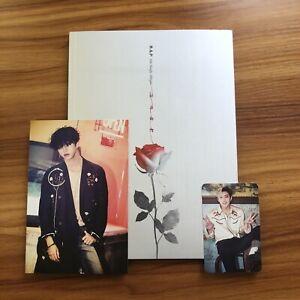 BAP B.A.P Rose (Ver. A) 6th Single Album + Jongup PC + Yongguk Postcard