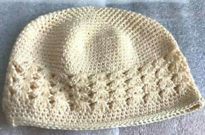 KUFI KNIT CROCHET CAP FOR TODDLERS, NEW, MANY COLORS, SOFT, LOW PRICE!